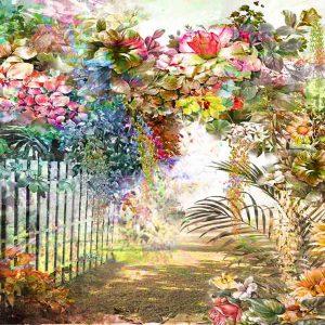 پوستر دیواری منظره بهار کد n-5859