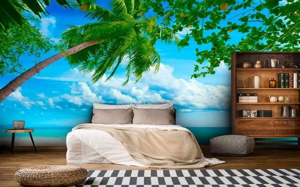 پوستر دیواری منظره دریا و ساحل کد n-7251