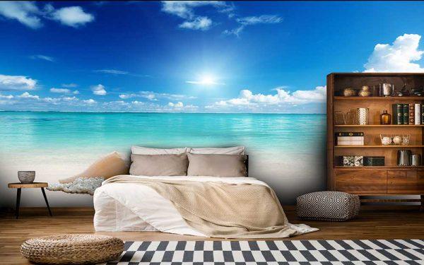 پوستر دیواری منظره دریا و ساحل کد n-7253