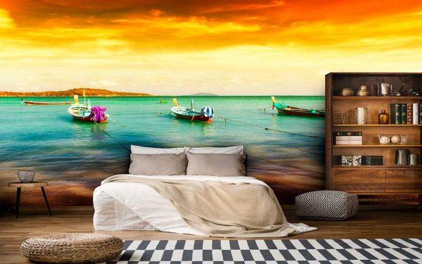 پوستر دیواری منظره دریا و ساحل کد n-7272