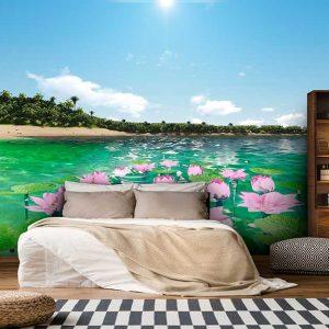 پوستر دیواری منظره دریا و ساحل کد n-7275