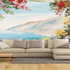 پوستر دیواری منظره دریا و ساحل کد n-7300