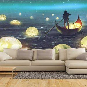 پوستر دیواری منظره دریا و ساحل کد n-7315