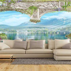 پوستر دیواری منظره دریا و ساحل کد n-7319