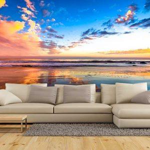 پوستر دیواری منظره دریا و ساحل کد n-7443
