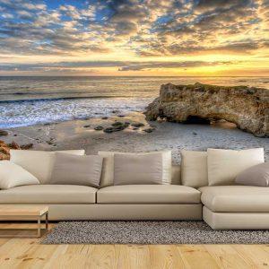 پوستر دیواری منظره دریا و ساحل کد n-7444