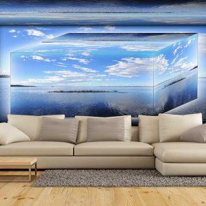 پوستر دیواری منظره دریا و ساحل کد n-7462