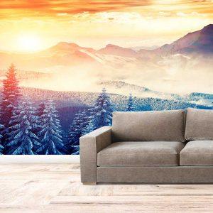 پوستر دیواری منظره زمستان کد n-6905