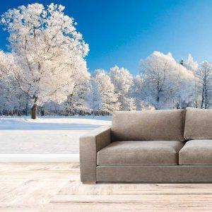 پوستر دیواری منظره زمستان کد n-6914