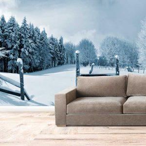 پوستر دیواری منظره زمستان کد n-6948
