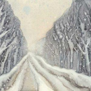 پوستر دیواری منظره زمستان کد n-6936
