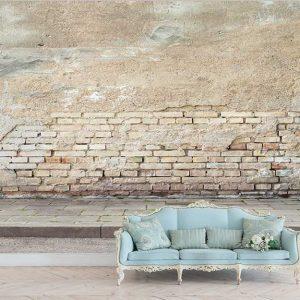 پوستر دیواری منظره صخره و دیوار کد n-14506