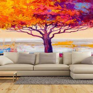 پوستر دیواری منظره پاییز کد n-6420