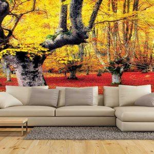 پوستر دیواری منظره پاییز کد n-6426