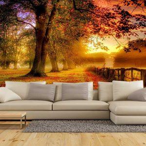 پوستر دیواری منظره پاییز کد n-6428