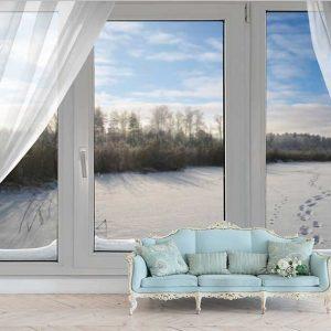 پوستر دیواری منظره پنجره کد n-7852