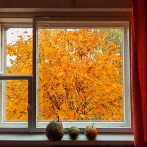 پوستر دیواری منظره پنجره کد n-7853