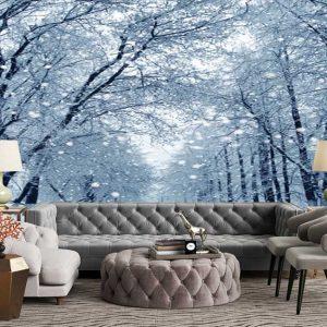 پوستر دیواری منظره زمستان کد n-6920
