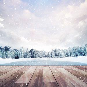 پوستر دیواری منظره زمستان کد n-6934