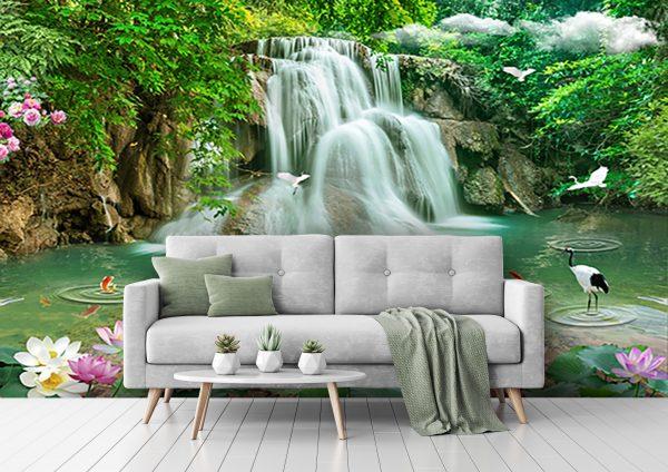 پوستر دیواری منظره تابستان کد mt-82159