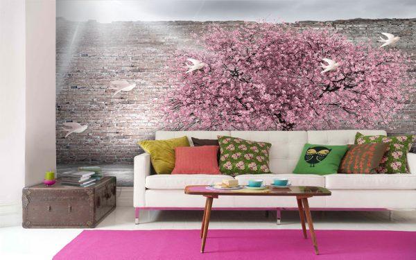 پوستر دیواری منظره تابستان کد mt-82179