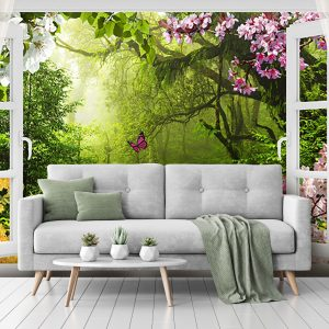 پوستر دیواری منظره تابستان کد mt-82181