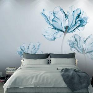 پوستر دیواری گل سه بعدی کد l-6054