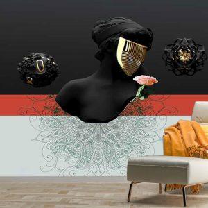 پوستر دیواری لاکچری پتینه کد mt-83160