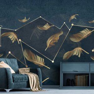 پوستر دیواری گل سه بعدی کد mt-1003