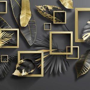 پوستر دیواری گل سه بعدی کد mt-1005