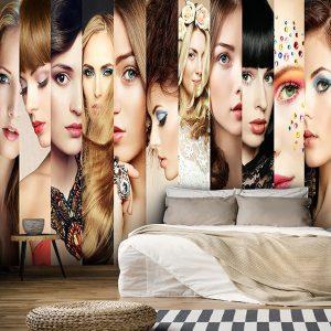 پوستر دیواری آرایشگاه زنانه کد w-2034