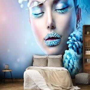 پوستر دیواری آرایشگاه زنانه کد w-2036