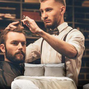 پوستر دیواری آرایشگاه مردانه کد b-2011