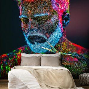پوستر دیواری آرایشگاه مردانه کد b-2030