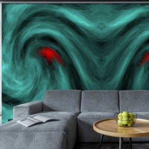 پوستر دیواری بکگراند سه بعدی کد b-9707