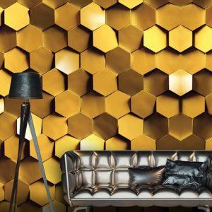 پوستر دیواری بکگراند سه بعدی کد b-9710