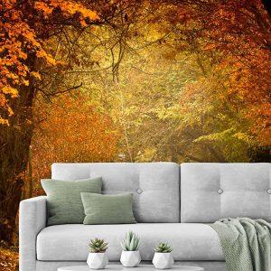 پوستر دیواری منظره پاییز کد n-6395