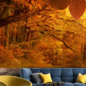 پوستر دیواری منظره پاییز کد n-6385