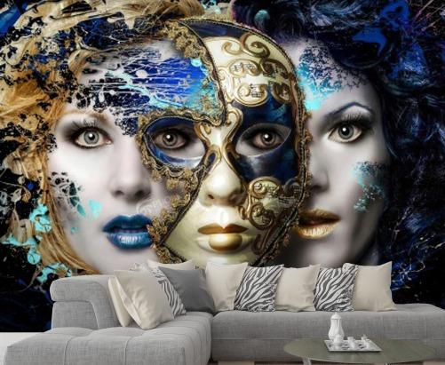 پوستر دیواری آرایشگاه زنانه کد w-2061