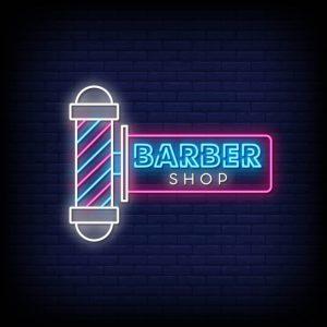 پوستر دیواری آرایشگاه مردانه کد b-2040
