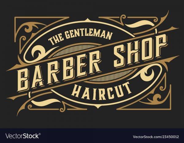 پوستر دیواری آرایشگاه مردانه کد b-2043