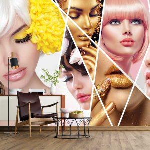 پوستر دیواری آرایشگاه زنانه کد mt-83378