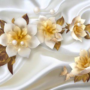 پوستر دیواری گل سه بعدی کد mt-83296
