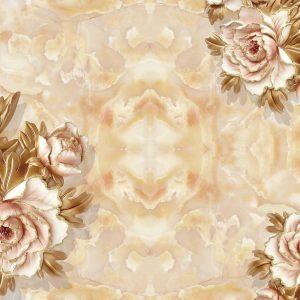 پوستر دیواری گل سه بعدی کد mt-83419