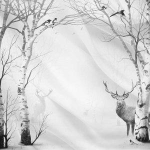 پوستر دیواری منظره زمستان کد mt-83526