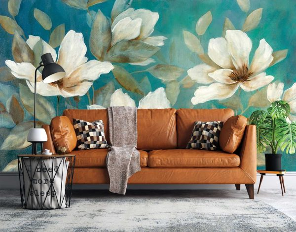 پوستر دیواری گل سه بعدی کد mt-83527
