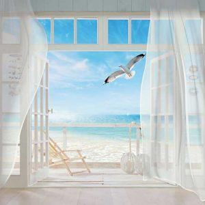 پوستر دیواری منظره پنجره کد mt-83537