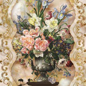 پوستر دیواری گل سه بعدی کد mt-83628