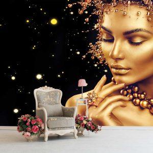 پوستر دیواری آرایشگاه زنانه کد mt-83668