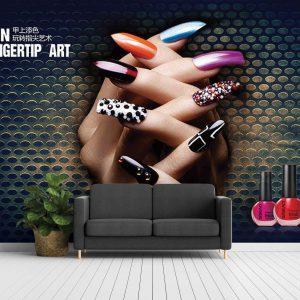 پوستر دیواری آرایشگاه زنانه کد mt-83719